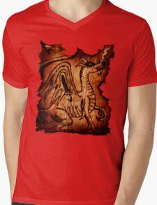 The Dragon Mens V-Neck T-Shirt