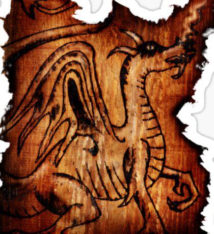 The Dragon Sticker