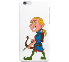 elf with a bow iPhone Case/Skin