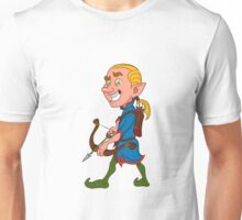 elf with a bow Unisex T-Shirt