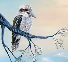 Kookaburra Delight by © Linda Callaghan