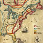 North America 1755 by wonder-webb