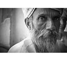 an indian portrait Photographic Print