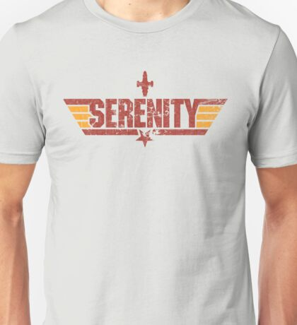 Top Serenity (Red/Gold) Unisex T-Shirt