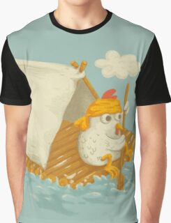 Chicken on a Raft Graphic T-Shirt
