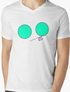 Minimalist Gir 2 Mens V-Neck T-Shirt