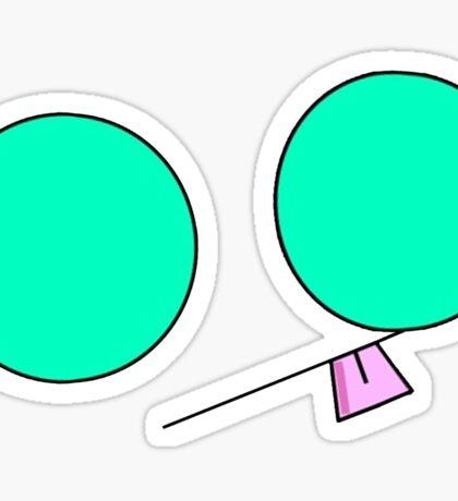 Minimalist Gir 2 Sticker