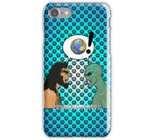 Fight over the planet iPhone Case/Skin