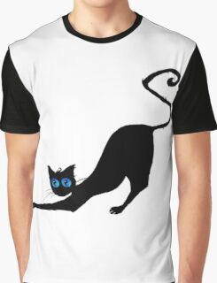Black cat  Graphic T-Shirt