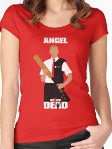Angel of the Dead Women's Fitted Scoop T-Shirt