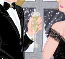 New Years Eve Romance Sticker