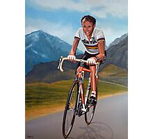 Joop Zoetemelk Painting Photographic Print