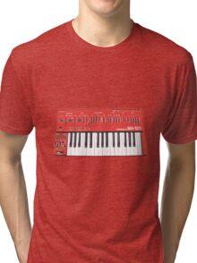 Classic SH-101 Analog Synthersizer Tri-blend T-Shirt