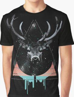 The Blue Deer Graphic T-Shirt