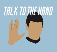 Talk to the Vulcan Hand by Eli Rutten