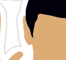 Talk to the Vulcan Hand Sticker