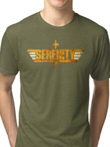Top Serenity (Orange-Gold) Tri-blend T-Shirt