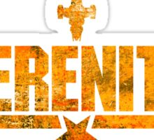 Top Serenity (Orange-Gold) Sticker