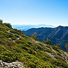 Mt. Baldy - Blue Cloud Layer by Benjamin Curtis