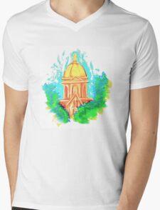 Golden Dome Mens V-Neck T-Shirt