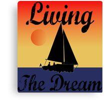 Dream Boat ... Canvas Print