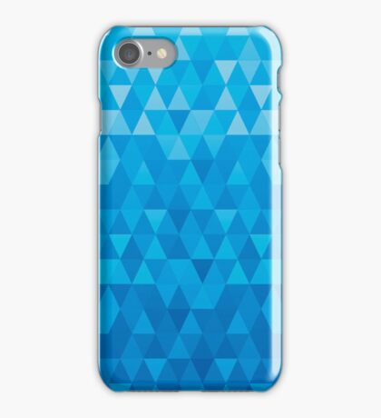 jewel background blue iPhone Case/Skin