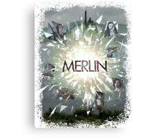 Merlin Primeval crossover annomally Canvas Print