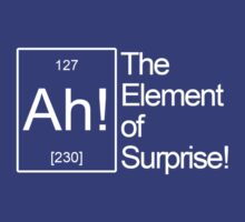 The Element of Surprise! by albertot