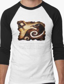 Odin's Raven Muninn Men's Baseball ¾ T-Shirt