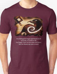 Odin's Raven Muninn Unisex T-Shirt