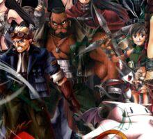 Final Fantasy VII - Collage Sticker