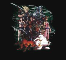 Final Fantasy VII - Collage by Gustavinlavin