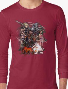 Final Fantasy VII - Collage Long Sleeve T-Shirt