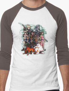 Final Fantasy VII - Collage Men's Baseball ¾ T-Shirt