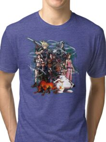 Final Fantasy VII - Collage Tri-blend T-Shirt