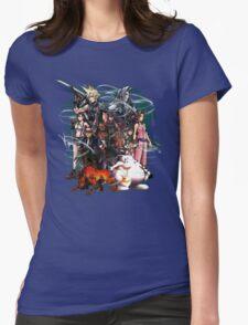 Final Fantasy VII - Collage Womens T-Shirt