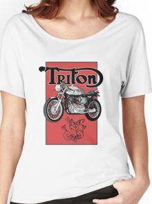 Triton Women's Relaxed Fit T-Shirt