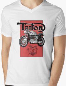Triton Mens V-Neck T-Shirt