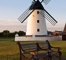 Lytham Windmill by Steve  Liptrot