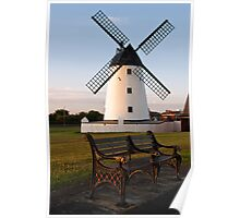 Lytham Windmill Poster