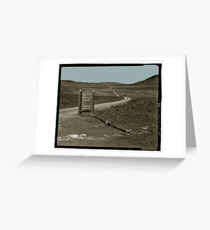 Thunder Road [Print, Tee, Sticker, and Cases] Greeting Card