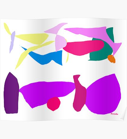 Purple Mask  Poster