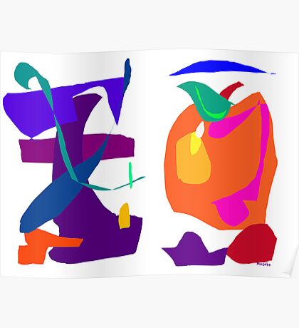 Apple and Eggplant  Poster