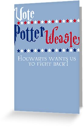Vote Potter! by atlasspecter