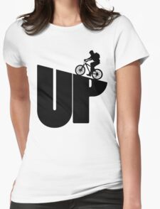 Mountain Bike Rider Cycling Womens Fitted T-Shirt