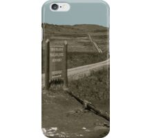 Thunder Road [Print, Tee, Sticker, and Cases] iPhone Case/Skin