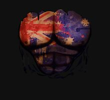 Australian  Flag  Body Muscles  Ripped Funny Patriotic T-Shirt Unisex T-Shirt