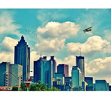 Atlanta Georgia Skyline 2012 Photographic Print