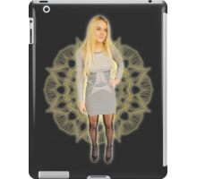 Lace Lindsay Grey Skirt iPad Case/Skin