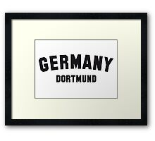 GERMANY DORTMUND Framed Print